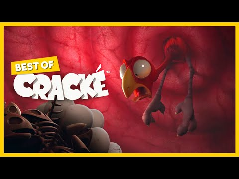 CRACKÉ - UPSET STOMACH   Cartoon for kids   by Squeeze