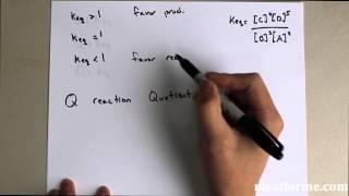 MCAT General Chemistry Lecture: Equilibrium