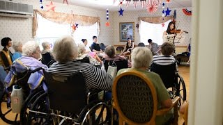 Lyme Light brings music and energy to local senior centers