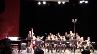 Nassau Sufflok Jazz Ensemble Dancing on the ceiling 1 31 15 CW Post Tilles Center - YouTube