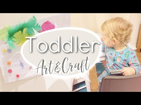 No Mess Art & Craft | Toddler Activities