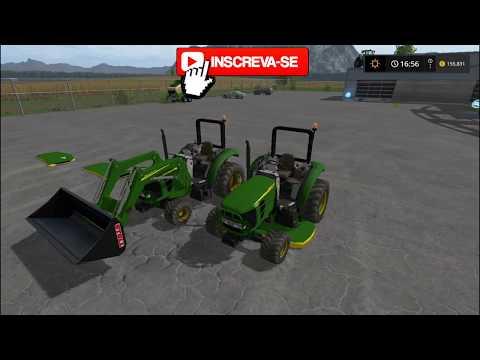 John Deere 2032R 4x4 and Pack v1.0