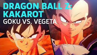 Dragon Ball Z: Kakarot - Goku vs. Vegeta Boss Fight (Saiyan Saga) by GameSpot