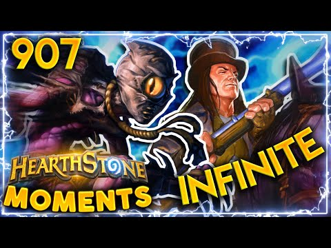 INFINITE DAMAGE COMBO IN ARENA | Hearthstone Daily Moments Ep.907