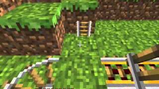MineCraft How to make Booster and Detector rails
