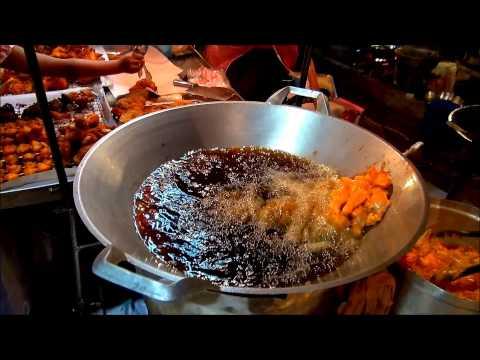 Phuket Food Market: Budget Travel Phuket, Thailand (HD)
