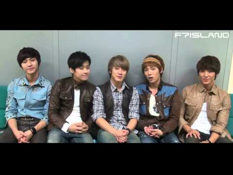 [FTISLAND] Message for Thanksgiving Day