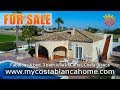Fabulous 4 bedroom villa for sale in Catral, Costa Blanca