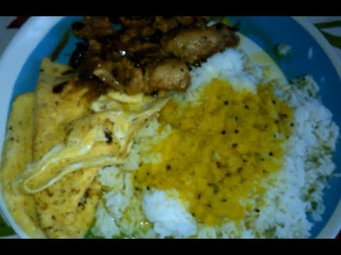 Post Workout High Protein Indian Bodybuilding Meal Example