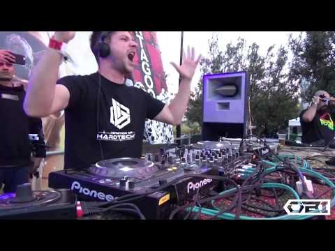 O.B.I. @ Montagood 2015 Classic Hardtechno/Schranz Set (Spain)