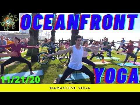 Oceanfront Yoga   All Levels Yoga   Yoga To The People   Namasteve Yoga