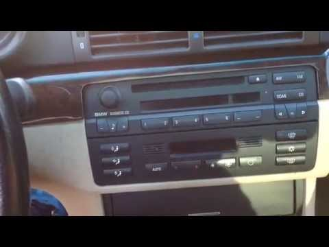 How to remove a BMW e46 Radio Stereo in less than 1 minute 323i 325i 328i 330i