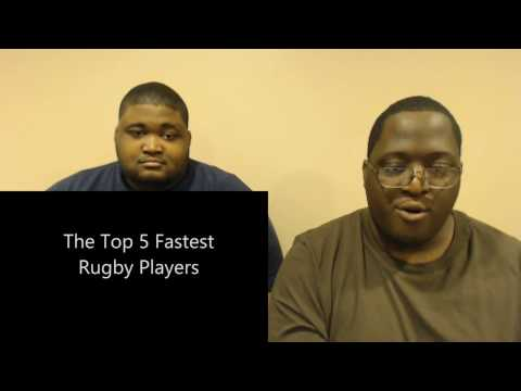 Top 5 Fastest Rugby Players Reaction!!!
