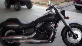8. 2013 Honda Shadow Phantom 750 SALE at Honda of Chattanooga TN - VT750C2B Phantom Walkaround