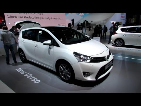 2013 Toyota Verso Diesel 7-Seats – Exterior and Interior Walkaround – 2012 Paris Auto Show