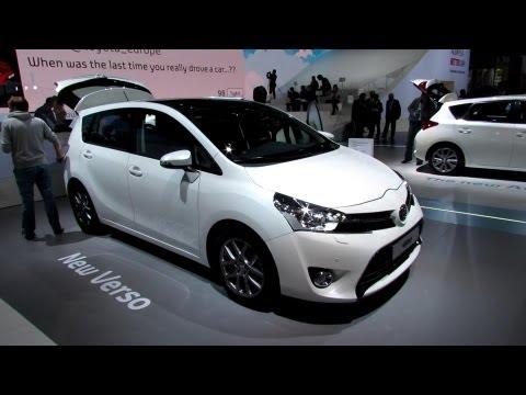2013 Toyota Verso Diesel 7-Seats – Exterior and Interior Walkaround – 2012 Paris Auto Show