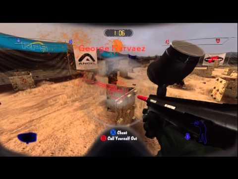 greg hastings paintball 2 xbox 360 test