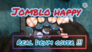 Jomblo happy ~ gamma band (real drum cover)