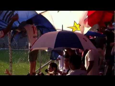 La Garra Alba festejando el 2do gol y haciendo fiesta - Garra Alba - Club Nacional Paraguay