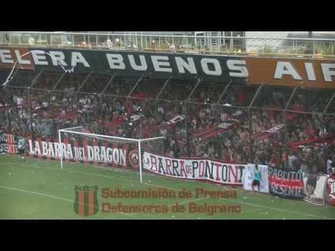 Hinchada y Festejos | Defensores de Belgrano Campeón 2014 - La Barra del Dragón - Defensores de Belgrano