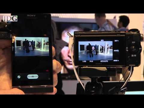 IFA 2012: Hands on: Sony NEX-5R remote viewfinder