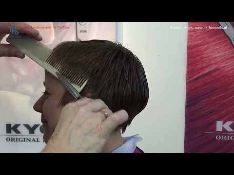 Short haircuts - Just having a hairdressers good time! Pixie Cut & Color tutorial of Dorrit by T.K.S