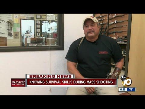 SEAL veteran shares tips to escape mass shooting