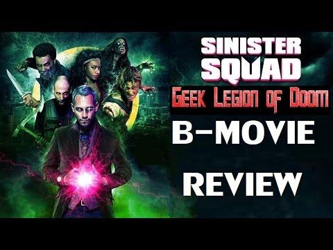 SINISTER SQUAD ( 2016 Johnny Rey Diaz )  B-Movie Review
