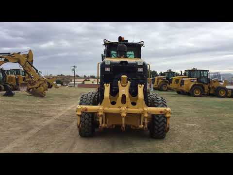 CATERPILLAR MOTONIVELADORAS 160M2 equipment video UEXeXjOwq4A