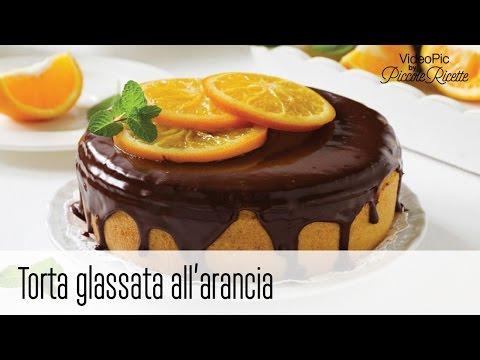 torta glassata all'arancia - ricetta