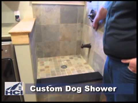 Custom Dog Shower