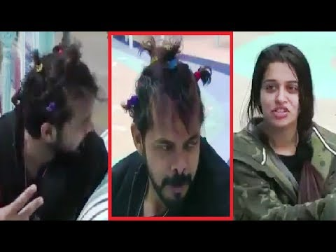 New hairstyle - Dipika ने बनाया Sreesanth का ऐसा Hairstyle  Dipika gave new look to Sreesanth