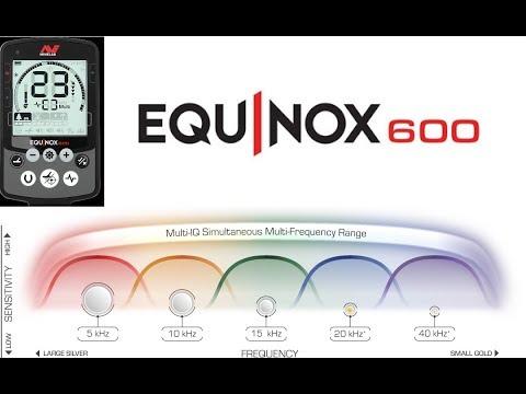 Minelab Equinox 600 Metal Detector Hunt
