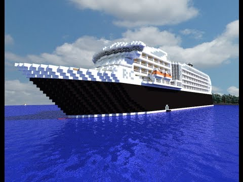 Regency Monarch Minecraft Cruise Ship Full Interior