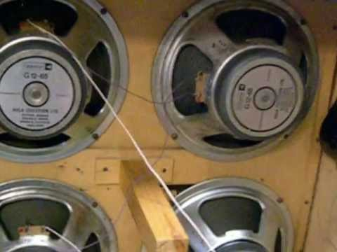 Marshall 4x12 Cabinet Wired Improperly.wmv