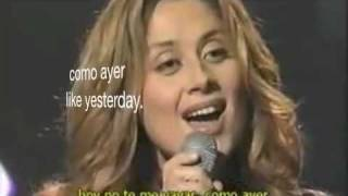 QUEDATE-LARA FABIAN With LYRICS AND TRANSLATION