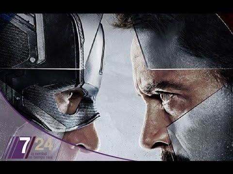 Iron Man vs Capitán América
