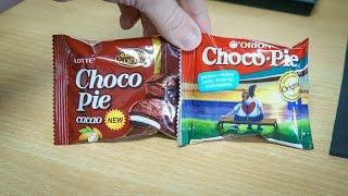 """Сравнил новинку от Lotte ( Choco Pie cacao ) с оригинальным Orion Choco PieНа мой вкус """"какао"""" победил. хоть и более жирный)"""