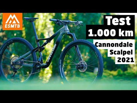 1.000 km con la Cannondale Scalpel 2021