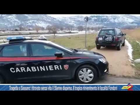Tragedia a Sassano: ritrovato senza vita Rocco Villano, il 55enne disperso da giovedì
