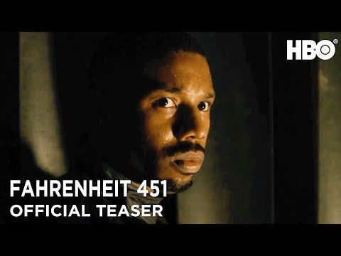 Fahrenheit 451 2018 Official Teaser ft Michael B Jordan  Michael