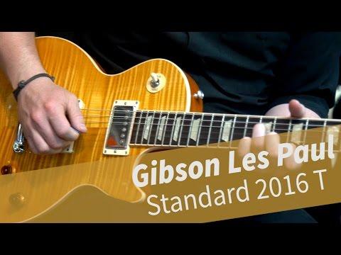 Gibson Les Paul Standard 2016 T Translucent Amber