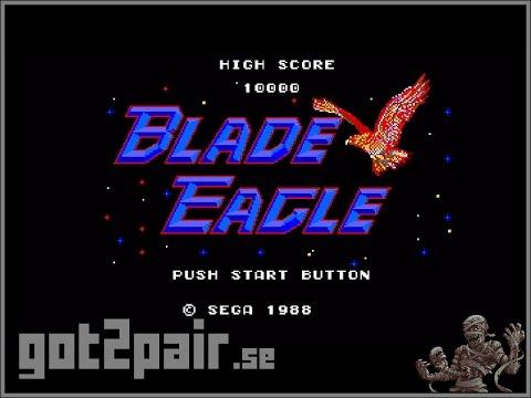 Blade Eagle 3-D - Master System