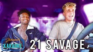 Video 21 Savage Carpool Karaoke WITH Jake Paul MP3, 3GP, MP4, WEBM, AVI, FLV Maret 2018