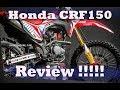 Bedah Sosok trail 150cc Honda CRF150, segera meluncur di Indonesia !!!