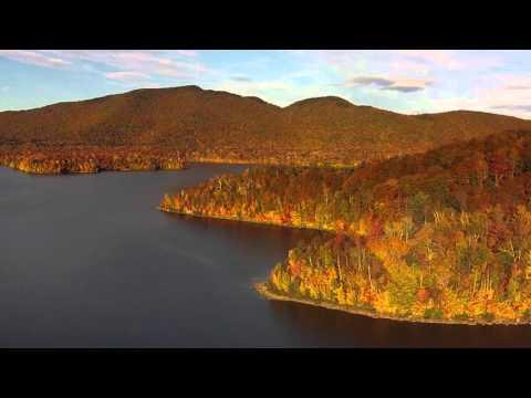 Chittenden Reservoir in fall