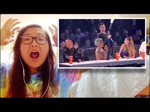 Demian Aditya: Escape Artist Attempts Death Defying Stunt - America's Got Talent 2017 REACTION!!! (видео)