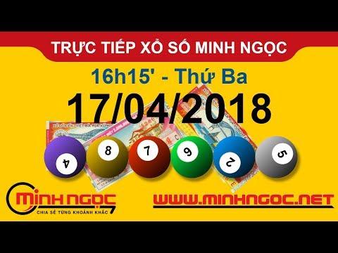 Trực tiếp xổ số MINH NGỌC T3 Ngày 17-04-2018 - Kênh Youtube chính thức từ Minhngoc.net.vn