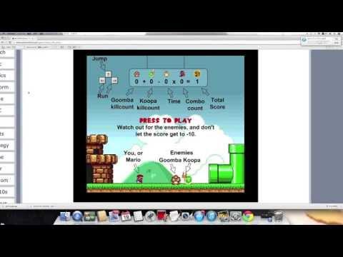 FLASH GAME SERIES - MARIO RUSH ARENA / SUPER FLASH MARIO BROS