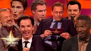 Graham Norton Show: Celebrities Impersonating Other Celebrities